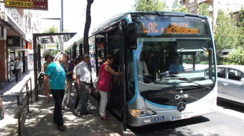 LAC Granada transporte público
