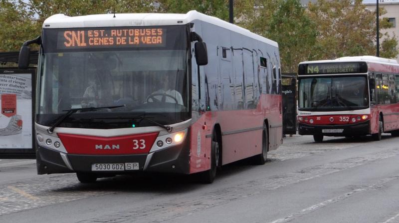 nuevas líneas de autobuses de largo recorrido granada