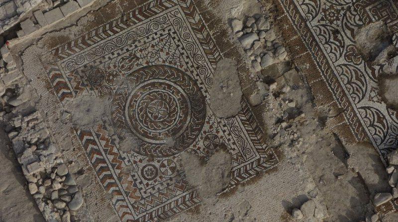 mosaico villa romana mondragones