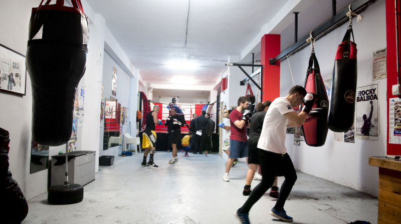Club M&S Boxeo, Granada