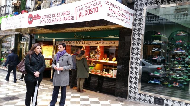 Comercio PSOE