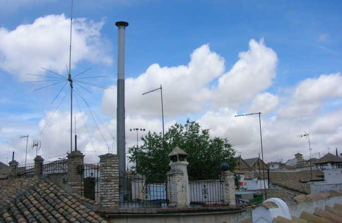 Horno del Hoyo antena Albaicín
