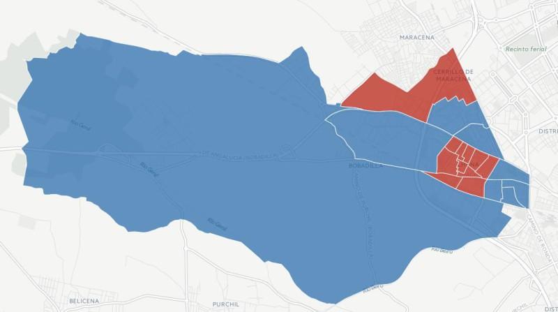 elecciones andaluzas 2015 resultados distritos granada chana