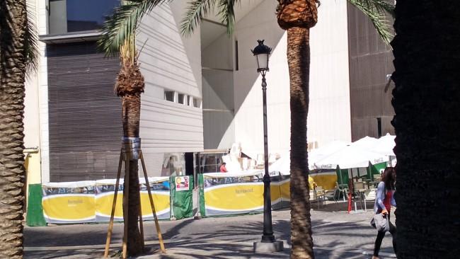 apertura del Centro Lorca, Plaza de la Romanilla