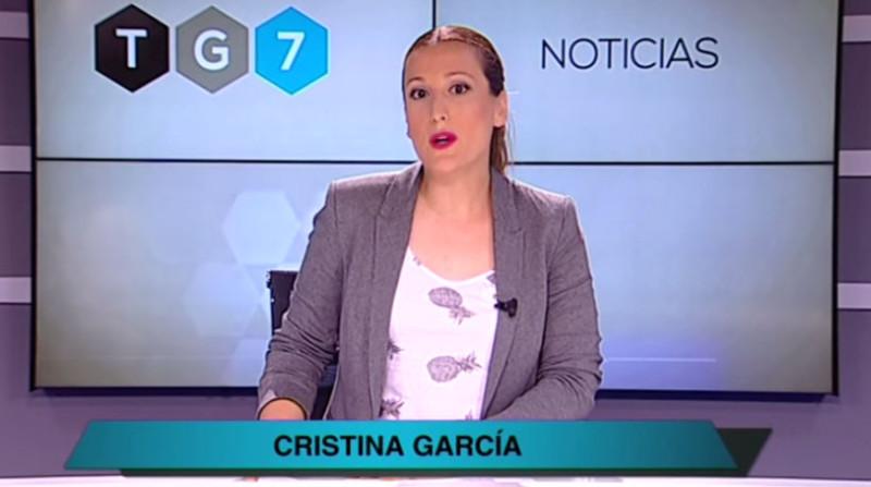 cristina garcía directora tg7