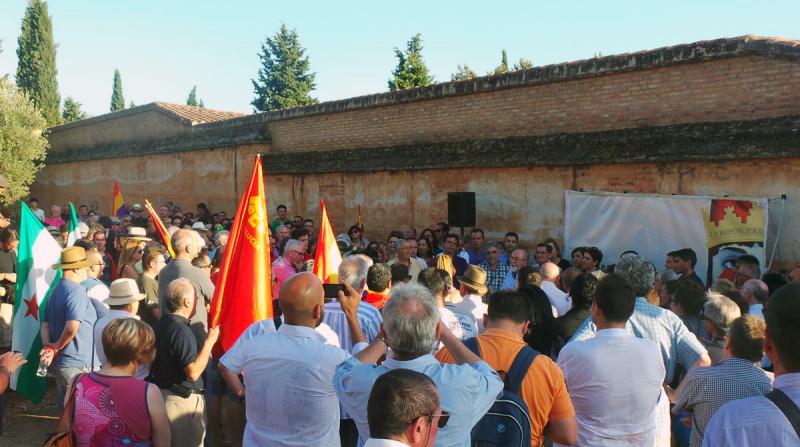 víctimas del franquismo Granada cementerio
