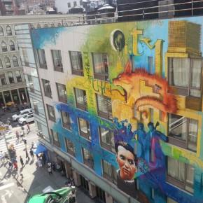 Hotel City Rooms NYC, en el Soho neoyorquino, decorado por el Niño de las Pinturas.