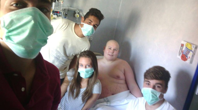trasplante medula Angel Martín Granada
