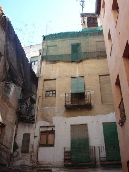 Las cubiertas del edificio estaban en muy mal estado.
