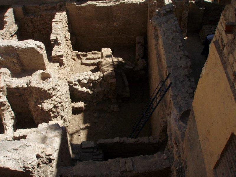 Los trabajos arqueológicos de la Casa Cuna.