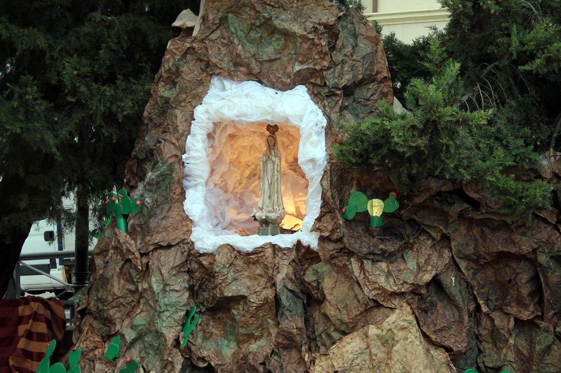 Detalle de la Cruz del Realejo Histórico y Tradicional.