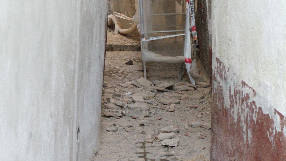 Cascotes vistos desde la placeta Cruz Verde