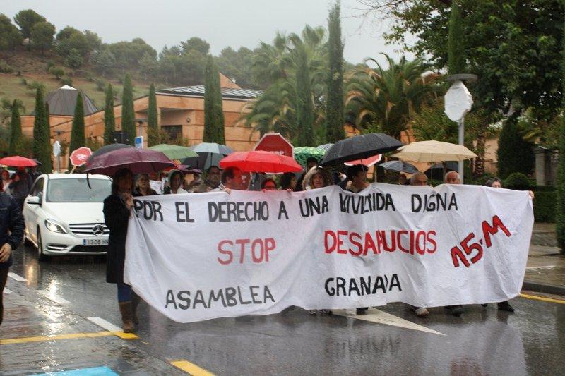 Marcha de Stop Desahucios
