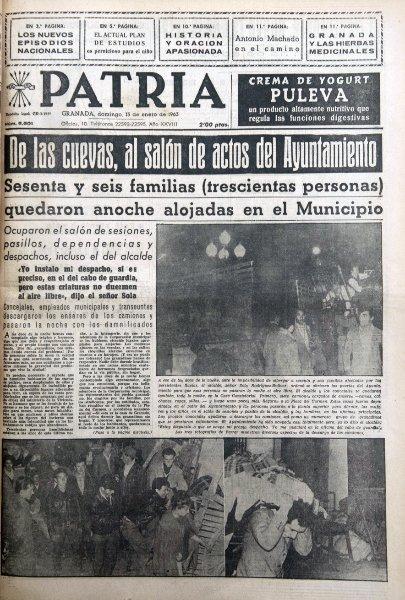 De las cuevas, al Ayuntamiento de Granada