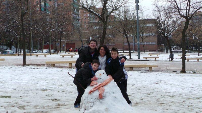 Muñeco en el Parque 28 de febrero, Cartuja