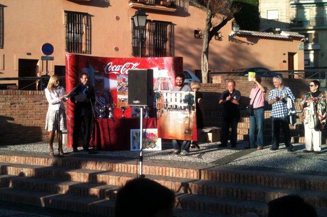Miguel Linares, tercer premio.