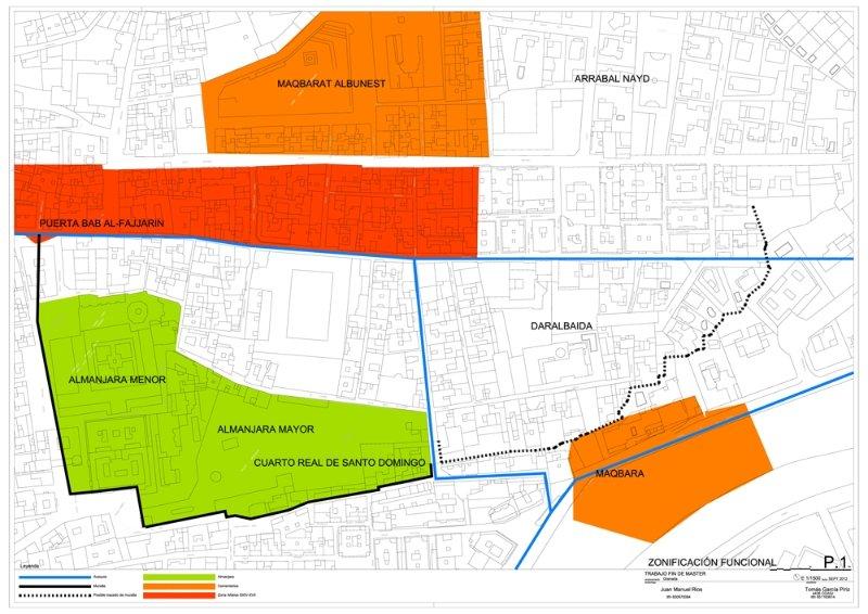 Mapa de áreas y actividades