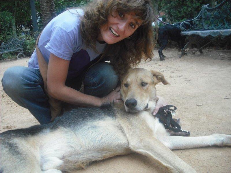 Lourdes y Vito. Foto: Solidarios con los animales