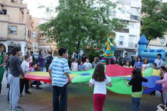 Fiesta infantil previa al discurso de Paco Cuenca