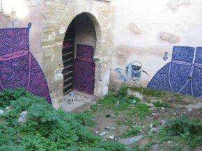 Puerta Monaita en el Albaicín, Granada