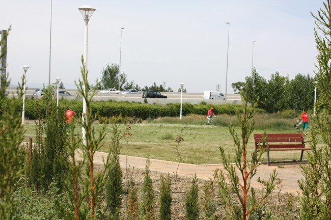 Parque de las Alquerías, en la Chana