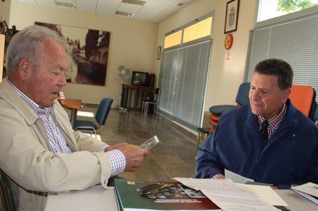 Antonio Salguero y Roberto Sánchez, antiguos tabacaleros
