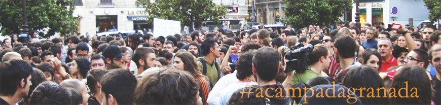 Los indignados, concentrados en la Plaza del Carmen