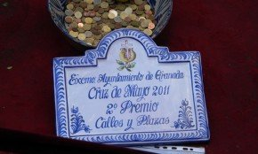 2º premio a la Cruz de la Plaza del Padre Suárez
