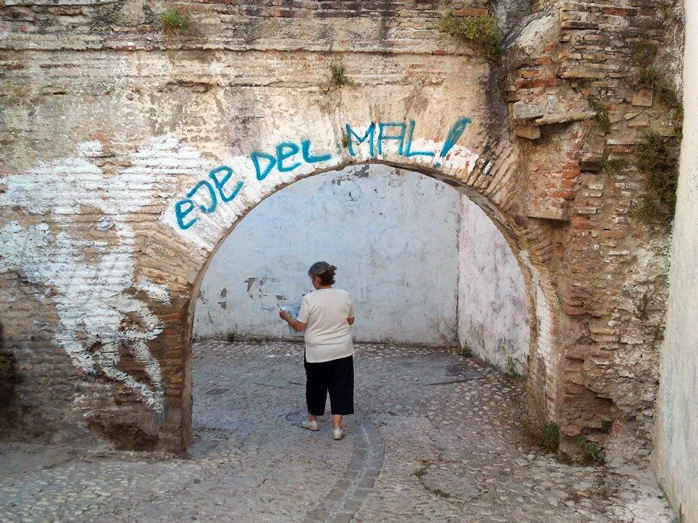 Arco del callejón de las Monjas