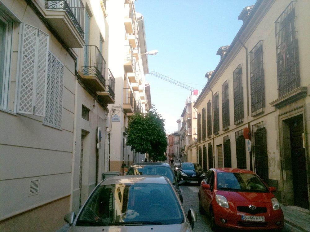 Tráfico en Calle Santiago