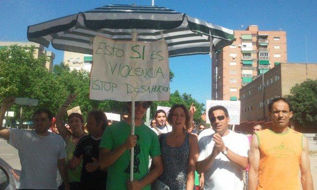Salida desde la Zona Norte hacia la manifestación del 19J