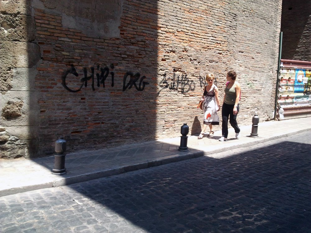 grafiti Puerta Elvira Albaicín