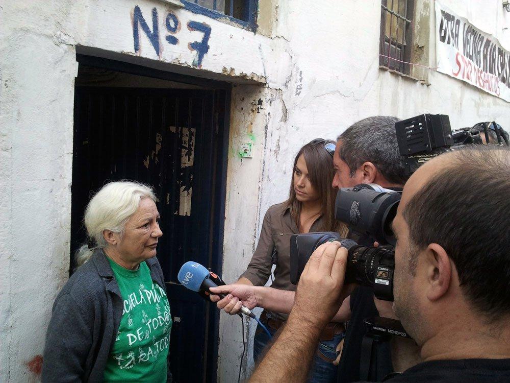 desahucio de la Casa del Aire Albaicín, Clara Martínez