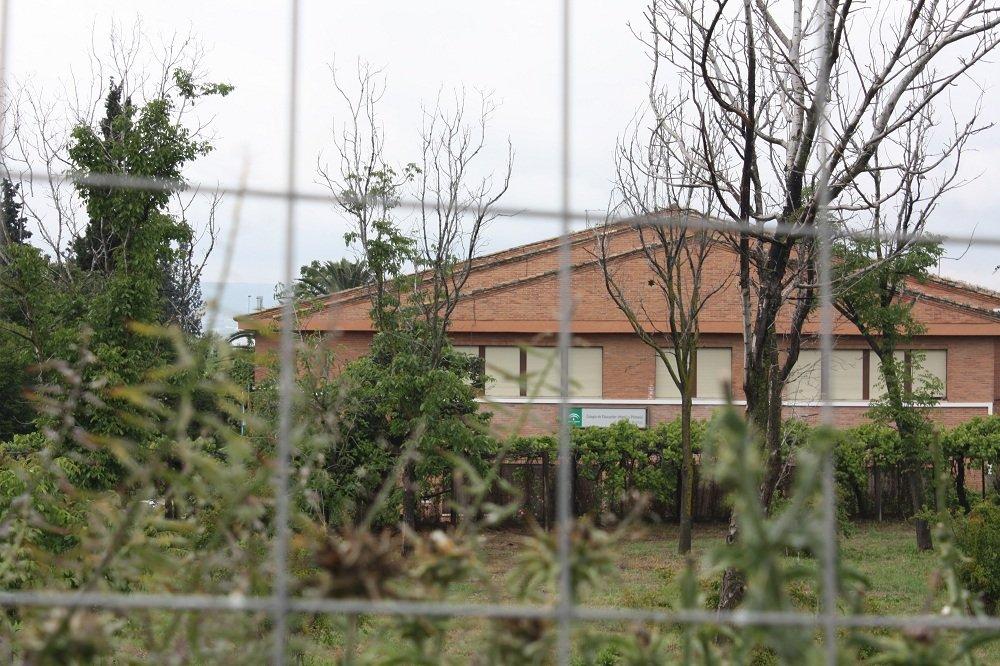 Vista del colegio Eugenia de Montijo