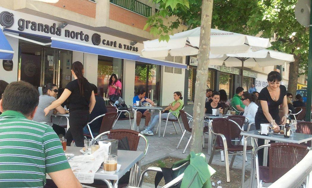 Granada Norte, bar cafetería