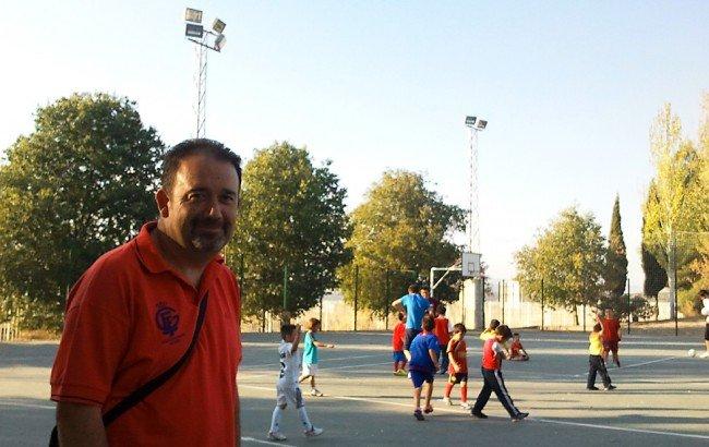 José Luis Prieto, coordinador deportivo del CF Casería Parque