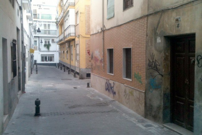 Calle natal de Vicenta Lorca Romero