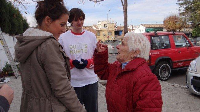 Vecina La Paz conversa con estudiantes de ETSAG Somos Norte