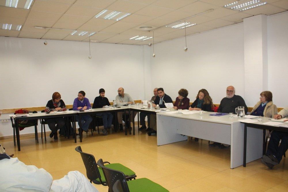 Junta Municipal de Distrito de la Chana del 10 de enero de 2012