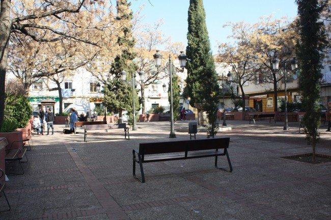 Plaza de la Unidad, en la Chana