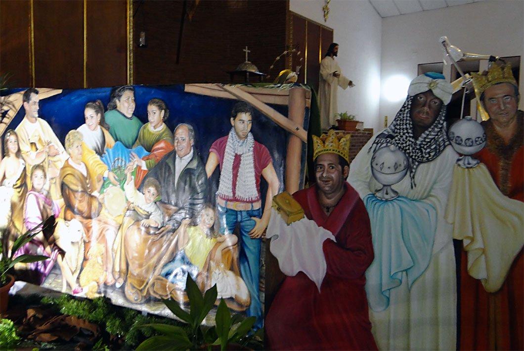 Belén parroquia Sagrada Familia Polígono de Cartuja