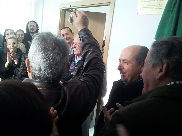 llaves sede asociación de vecinos Casería de Montijo