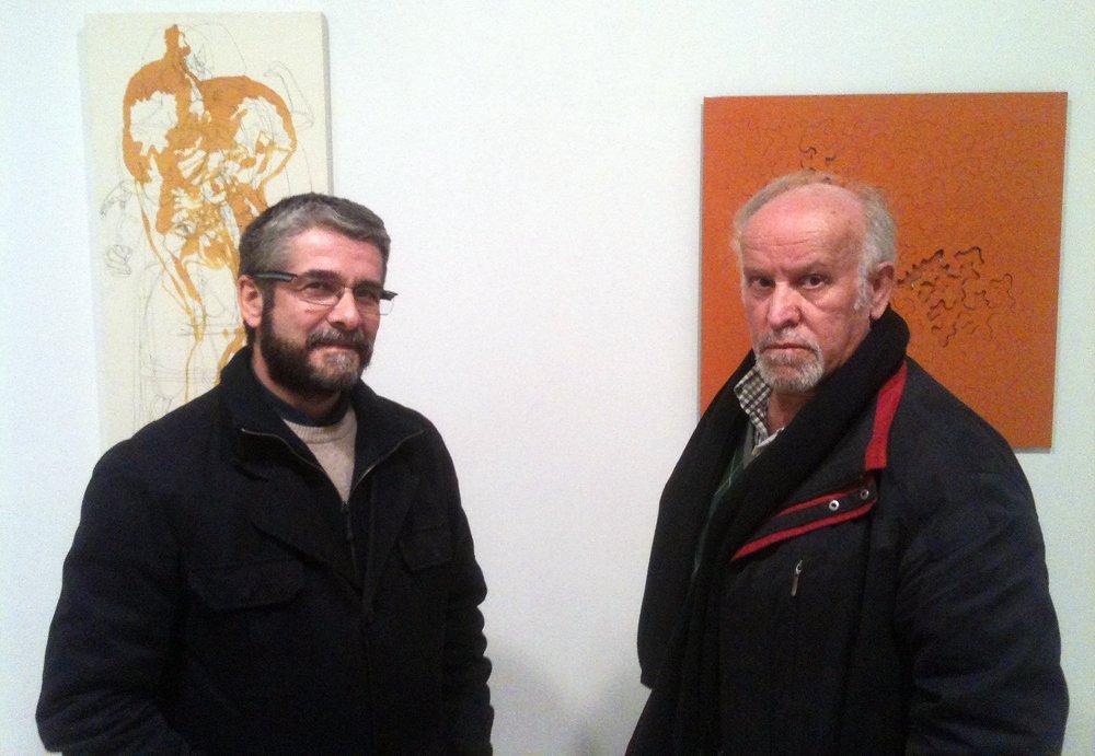 Alejandro Gorafe y Pepe Arrabal