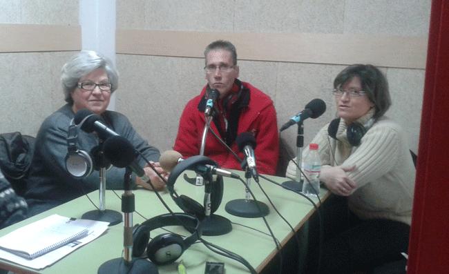 Encarna, Emilio y Rosa, Stop desahucios