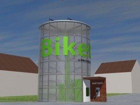 Bike Tower, el concepto con el que le gustaría trabajar a Eco21 y Domoelectra