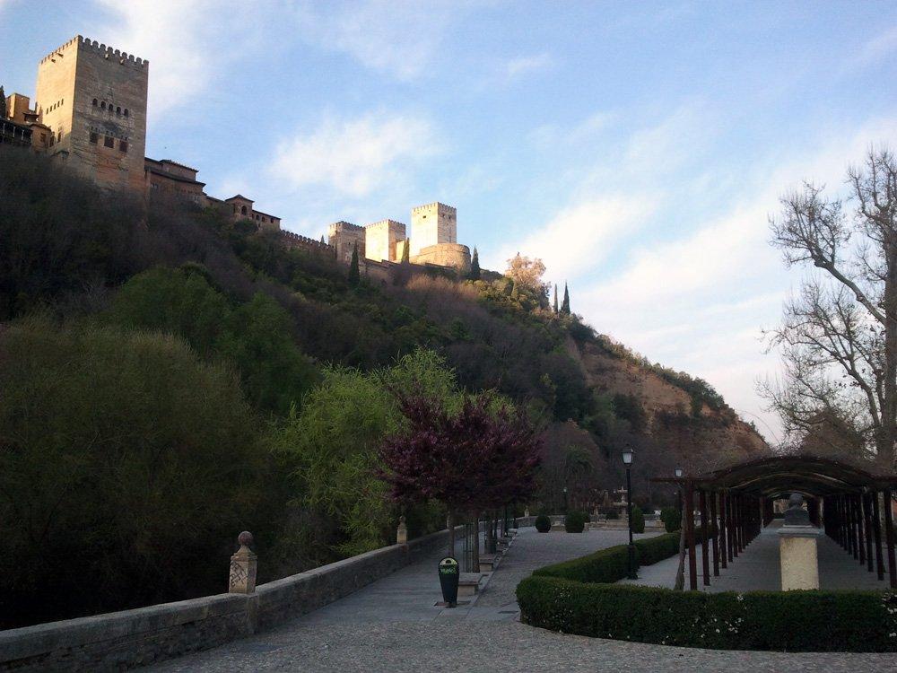 Alhambra-paseo de los Tristes-huelga-29M