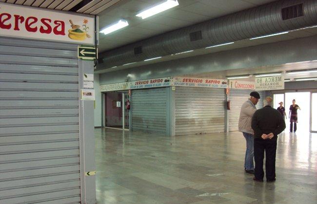 Merca80 durante la huelga general
