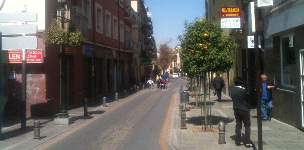 Calle Molinos Huelga General Granada 29M
