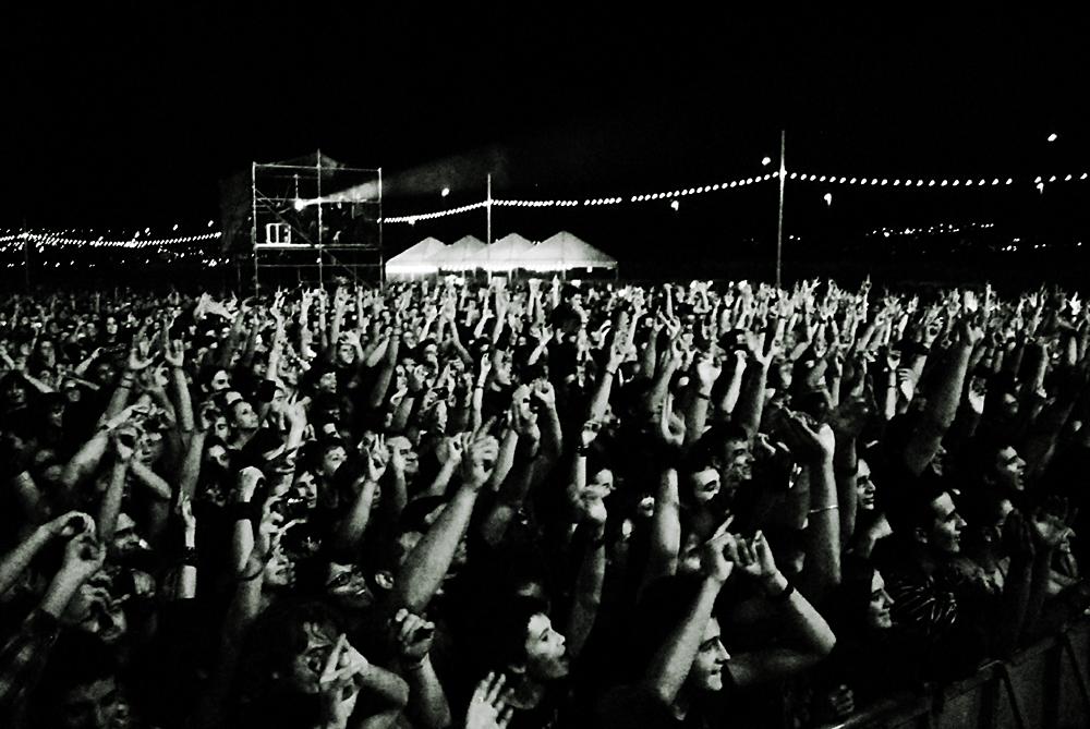Público del Zaidín Rock, en la edición de 2011 FOTO: LEO RAMA