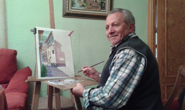 Antonio Benítez, pintor autodidacta del Zaidín.